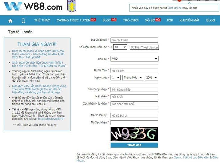 W88 Thông Tin